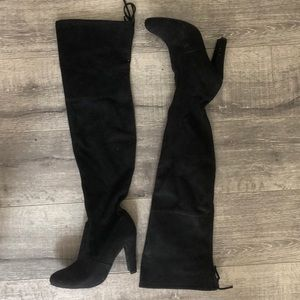 Steve Madden Over the Knee Boots Size 7.5